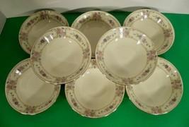 Johann Haviland PRIMROSE Fruit Berry Dessert Bowl (s) LOT OF 8 Pink Blue... - $39.55