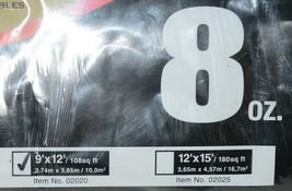 Merit Pro 02020 Medium Weight Canvas Drop Cloth 9 Ft X 12 Feet 8 Ounce image 2