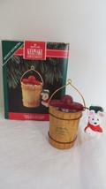 Christmas Hallmark Keepsake 1992 Uncle Art's Ice Cream Ornament - $5.89