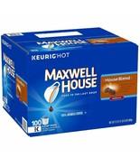 Maxwell House [100 K-Cups] House Blend Coffee 100% Arabica Coffee 100 ct  - $54.40