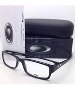 New OAKLEY Eyeglasses SERVO OX 1066-0155 55-18 Polished Black Rectangula... - $219.60