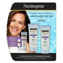 Neutrogena Ultra Sheer Dry-Touch Sunblock SPF 55 4 pack Helioplex UVA UVB NEW