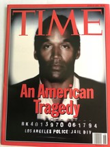 "Original Controversial O.J. Simpson ""An American Tragedy 1994 Time Magazine - $9.99"