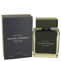 Narciso Rodriguez Bleu Noir By Narciso Rodriguez Eau De Toilette Spray 3... - $66.37