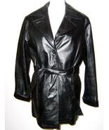 Wilsons Ladies Leather 3/4 Length Coat Thinsulate Medium - $49.99