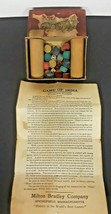 1900's Milton Bradley Royal Game Of India Mini Dice Instructions Original - $4.95