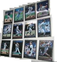 Lot 12 1998 topps super chrome jumbo collector card - $27.75