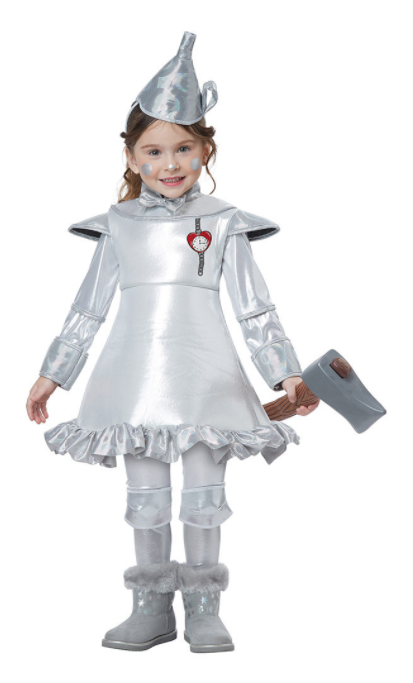 Tin Man Wizard of Oz Costume - Toddler