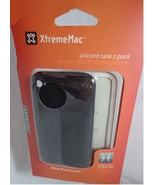 New XtremeMac Tuffwrap Apple Ipod Fitted Silicone Case 2 Pack  -- Black ... - $4.95