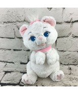Disney Aristocats Marie Pluch White Kitten Stuffed Animal With Pink Bow ... - $16.82