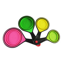 feiqiong Collapsible Silicone Measuring Cups 4 pc Set Tools - $15.95