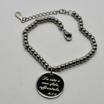 Steel Bracelet or Agate with Anthem Stylish Life of Mother Teresa of Calcutta image 5