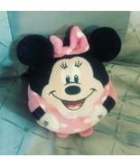 Ty Ball Minnie Mouse Beanie Pink Disney Plush Throw Pillow Toy - $19.99