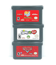 Sims2 Pets Cars Ty3 Tasmanjan Tiger Lot Of 3  Nintendo Gameboy Advance Cart Only - $24.73