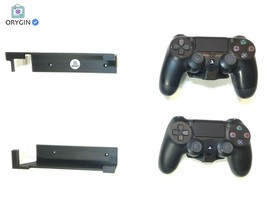 PS4 Original Wall Mount & 2x Controller Mounts - MADE IN USA - $17.22 CAD