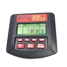 Tiger Electronics Bicycle Poker Handheld Electronic Game 1994 Draw Poker Works - $4.79