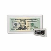 1 Case of 100 BCW Deluxe Currency Slabs - Regular Bill - 2 11/16 X 6 1/4 - $161.41
