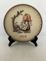"MJ Hummel Goebel Annual Plate ""Happy Pastime"" Hum 271 in Bas Relief 1978 - $10.00"