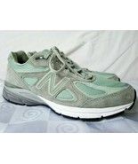 New Balance W990SM4 Silver Mint Women's Size 11 Very Low Miles 990v4 - $118.70
