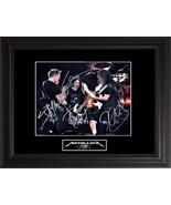Metallica Autographed Photo - $399.00