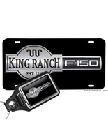 Ford F-150 King Ranch Aluminum License Plate Opt. Matching Key Ring - $13.81 - $16.78