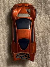 Mattel for McDonalds   Orange Sports Car  2005   CHINA  Good condition! - $1.50