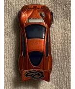 Mattel for McDonalds   Orange Sports Car  2005   CHINA  Good condition! - $1.50