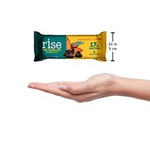 Rise Bar Non-GMO, Gluten Free, Soy Free, Real Whole Food, Whey Protein Bar 17g,  image 5