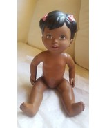 """12"""" Adorable Black 2011 Mattel Doll pre-owned with signs of use, but sti... - $16.49"""