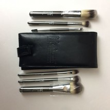 IT Cosmetics By Jamie Kern Heavenly Lux 6 Make Up Brushes w/travel case New Open - $44.55