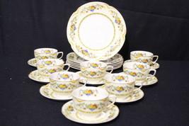 22pc Vintage Johnson Bros Brothers ACTON Pareek Plates, Cup, Saucer Set,... - $119.99