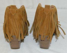 Beast Fashion Carrie 01 Camel Fringe Slip On Shoes Size 5 And Half image 4