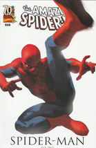 Amazing Spider-Man #608 NM 2009 Marvel Comics Marco Djurdjevic 70th ann ... - $3.95