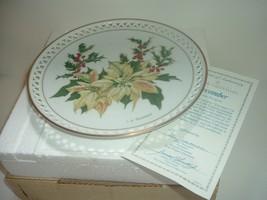 Bing & Grondahl Country Garden December Plate by Linda Thompson w Box COA - $22.99