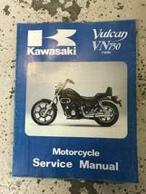 1985 1988 1990 1993 Kawasaki Vulcan VN750 Twin Service Repair Shop Manua... - $69.29