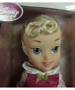 """Disney Store Collection 15"""" Young PRINCESS AURORA TODDLER Baby Doll NEW - $27.99"""
