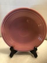 Fiestaware Retired Rose Set Of Four Rose Pink Desert Plate  Salad Plate ... - $15.84
