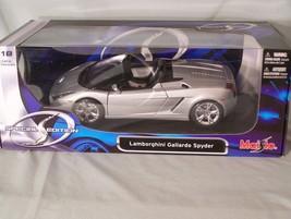 Lamborghini Gallardo Spyder 1:18 scale diecast Maisto Special Edition - $42.37