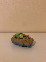 Fast Food Toy Burger King Captain Planet Wheeler Duke Nukem Flip Car 1990 - $0.98