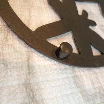Cast Iron Trivet, Dragonfly Design, Metal Hot Mat, Pot Mat, Dragonflies Decor image 7