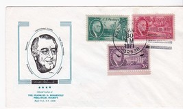 FRANKLIN D ROOSEVELT PHILATELIC SOCIETY HYDE PARK NY JANUARY 30 1971 - $1.98