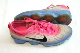 Women's Nike Flyknit Zoom Fit Agility Running Shoes Pink 684984-601 Size... - $34.65
