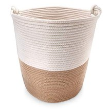 """Large Cotton Rope Storage Baskets 