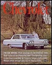 1964 Chevrolet Chevy PRESTIGE Brochure Impala Bel Aire Biscayne ORIGINAL... - $27.11