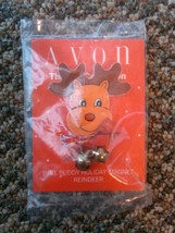 Avon Gift collection Bell buddy holiday magnet reindeer Christmas jingle... - $10.00