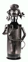 Premium Metal Nurse Wine Bottle Holder - £24.85 GBP