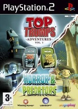 Top Trumps: Horror & Predators PS2 (Playstation 2) - Free Postage - UK S... - $4.93