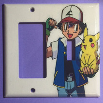 Pokemon & Pikachu Light Switch Duplex Outlet wall Cover Plate home decor image 4