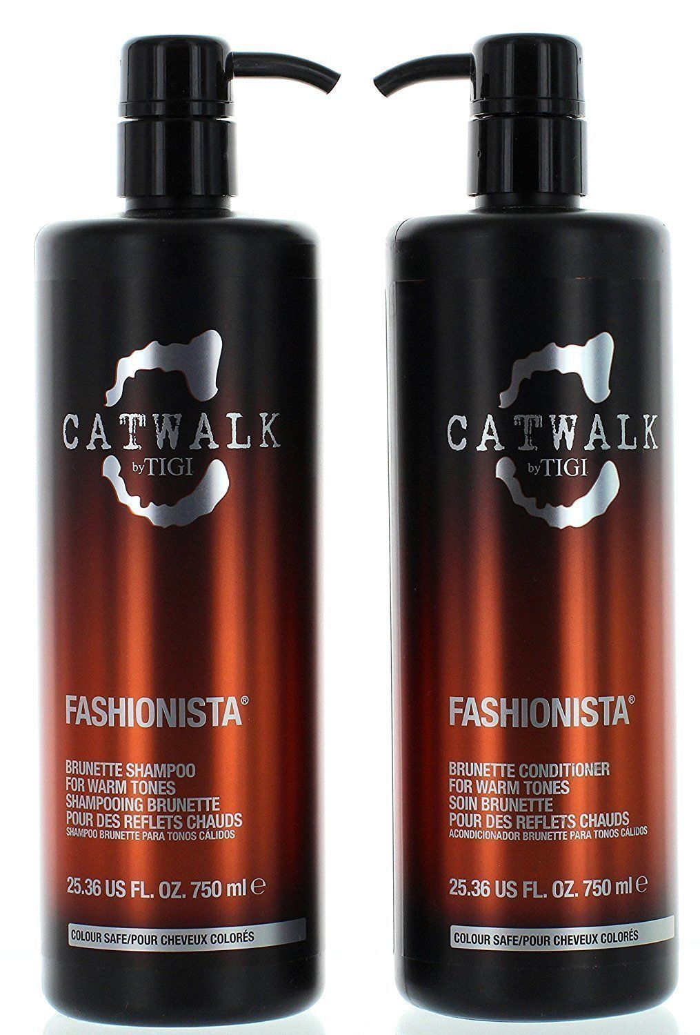 Catwalk Fashionista Brunette Tween Hair Shampoo And Conditioner, 25.36 Oz/each