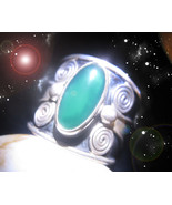 HAUNTED ANTIQUE RING THE MASTER CIRCLE EXPLOSION OF WEALTH SECRET OOAK M... - $5,557.77